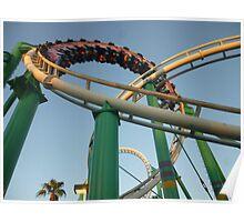 Desert Storm Loop (Roller Coaster) Poster