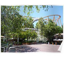 Revolution Roller Coaster Historic Loop Poster