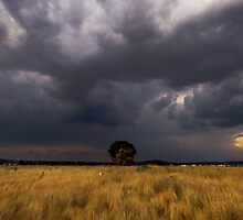 Angry Skies Above, Wallan by Hicksy