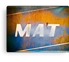 MAT Canvas Print