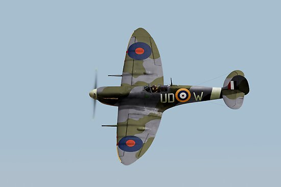 Finucane's Spitfire Vb by Gary Eason + Flight Artworks