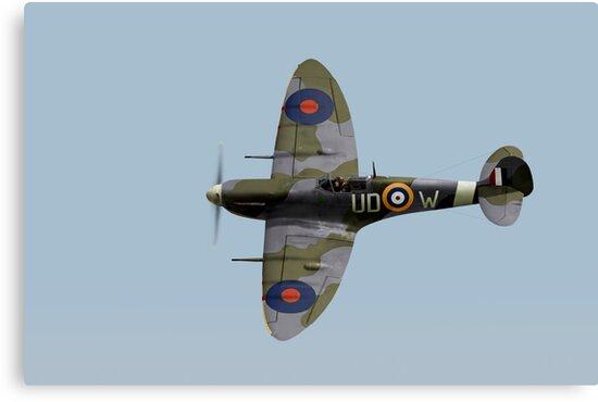 Finucane's Spitfire Vb by Gary Eason
