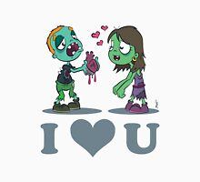 I Heart U : Zombies Unisex T-Shirt
