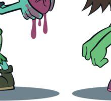 I Heart U : Zombies Sticker