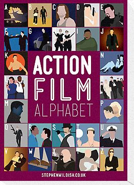 Action Film Alphabet by Stephen Wildish