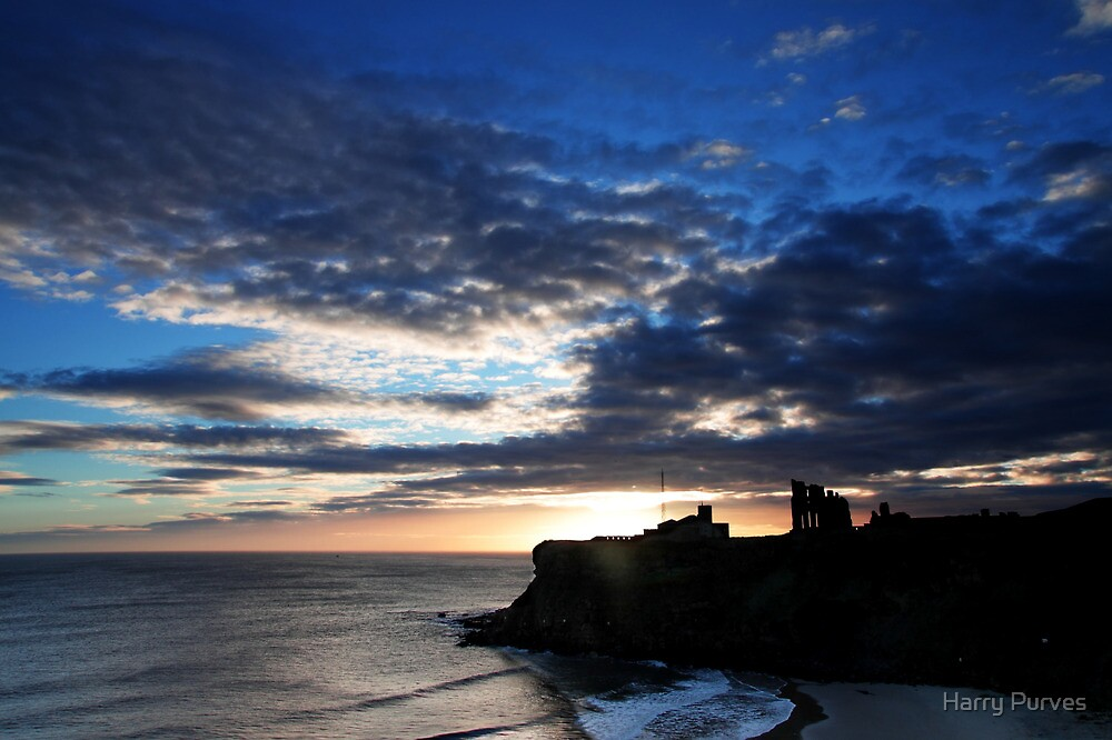 Tynemouth Priory by Harry Purves