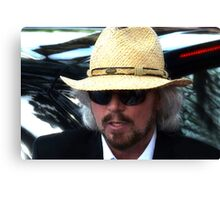 Barry Gibb  Canvas Print