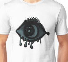 Abstract fish/eye? (Blue) Unisex T-Shirt