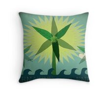 Alternative Energy Throw Pillow