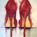 Red Shoes - Girls' Best Friends by Vandy Massey
