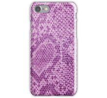 Pink snake skin iPhone Case/Skin