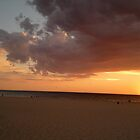 Holdfast Bay Sunset #2, Glenelg, South Australia by Irene Whennan