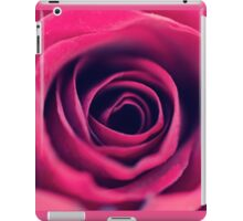 Red Swirls  iPad Case/Skin