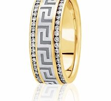 Handmade wedding bands by weddingbands25