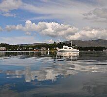 Plockton Bay Area, Scotland. by Ross Hutton