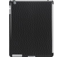 Black leather iPad Case/Skin