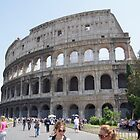 Colosseum view, Rome by parvmos