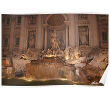 Fontana di Trevi, Rome Poster