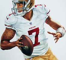 Colin Kaepernick by Daniel Tearle
