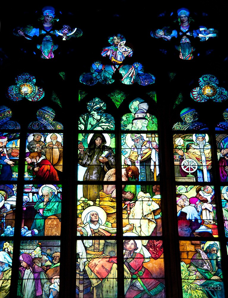 Religious History In Stained Glass by phil decocco
