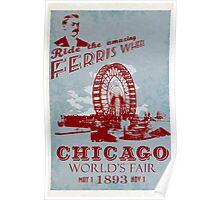 The amazing Ferris Wheel! Poster