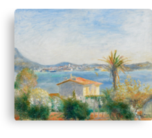 Tamaris, France, c.1885 Canvas Print