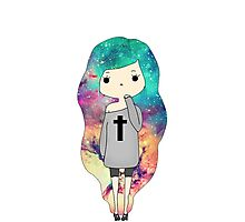 Galaxy adolescent Photographic Print