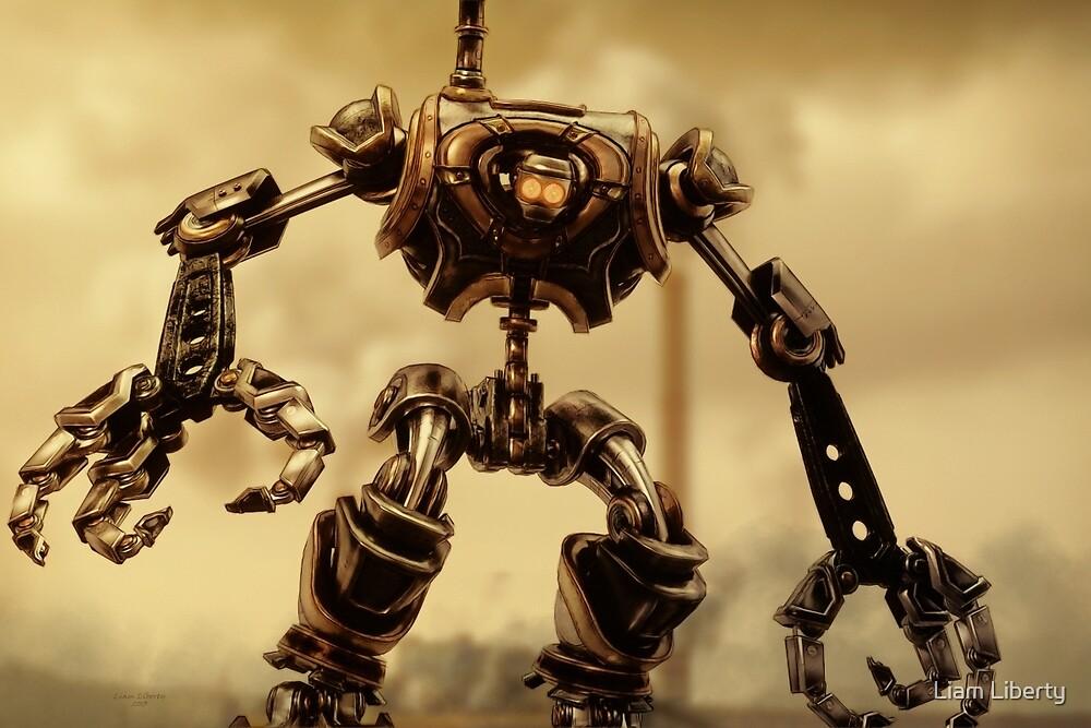 Steampunk Mechanoid by Liam Liberty