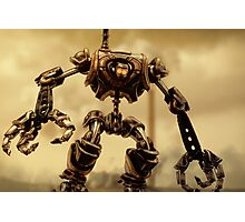 Steampunk Mechanoid Photographic Print