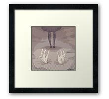 Buried Framed Print