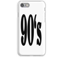 90's iPhone Case/Skin