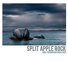 Split Apple Rock Photographic Print