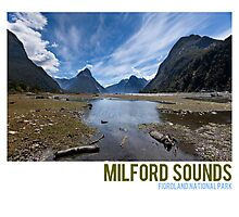 Milford Sounds Photographic Print