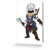 Native American Assassin Greeting Card