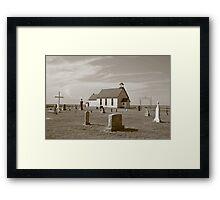 Prairie Worship Framed Print