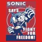 Fight for Freedom Sonic by nanite
