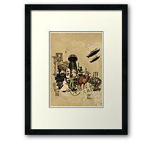 Victorian Endevour (vs1) Framed Print