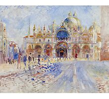 The Piazza San Marco, Venice, 1881 Photographic Print