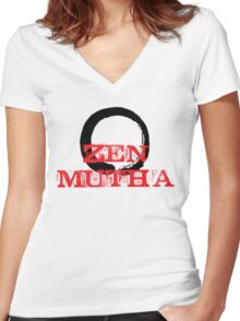 Zen Mutha Women's Fitted V-Neck T-Shirt