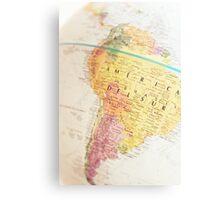 Maps Metal Print