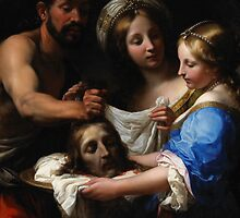 Salome with the Head of Saint John the Baptist, c.1680 by Bridgeman Art Library