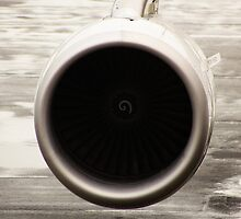 Airplane Engine by Sciuridae