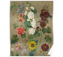 Untitled (Flowers) Poster