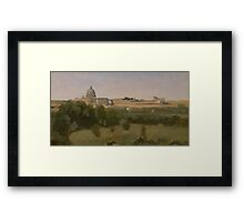 View of St. Peter's, Rome, 1826 Framed Print