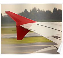 Airplane winglet III Poster