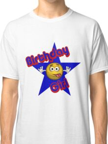 Cute Birthday Girl Smiley Face Classic T-Shirt