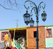 Street Light of La Boca II by Sciuridae