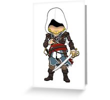 Pirate Assassin Greeting Card