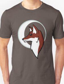 Night Fox Profile & Moon T-Shirt