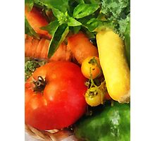 Food - Vegetable Medley Photographic Print